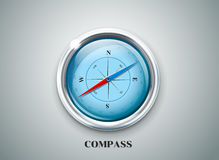 Kompasswindrose-Vektorillustration Lizenzfreies Stockfoto