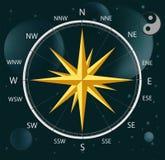 kompasu róży wiatr Obrazy Royalty Free