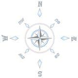 kompasu srebra ilustracja wektor