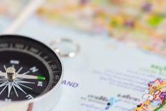 kompasu srebra Zdjęcie Royalty Free