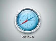 Kompasu wiatru różana wektorowa ilustracja Zdjęcie Royalty Free