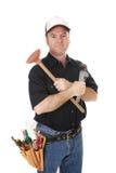 kompetent handyman royaltyfri bild