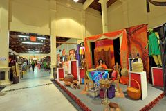 Langkawi Craft Complex. Or Cultural Craft Complex of Langkawi showcases & sells many beautifully designed art & craft reflecting Malaysia`s rich heritage stock image