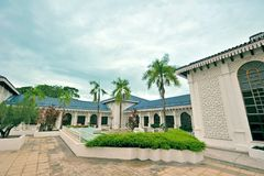 Langkawi Craft Complex. Kompleks Craf or Cultural Craft Complex of Langkawi showcases & sells many beautifully designed art & craft reflecting Malaysia`s rich royalty free stock photo