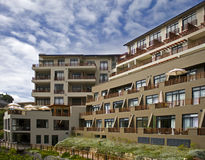 Kompleks apartamentów Obraz Stock