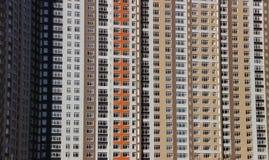 kompleks apartamentów duże Zdjęcia Stock