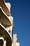 kompleks apartamentów nowożytny Zdjęcie Royalty Free