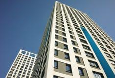 Kompleks Apartamentów z Windows fotografia royalty free