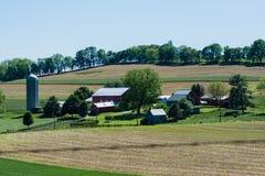 Kompleks gospodarstwo rolne Obrazy Royalty Free