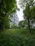 Kompleks mieszkaniowy w Japonia fotografia royalty free