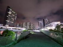 Kompleks mieszkaniowy w Japonia obrazy royalty free