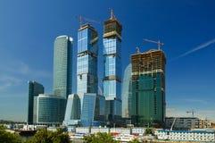 kompleks Moscow miasto. Obrazy Royalty Free