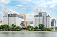 Kompleksislam Putrajaya, Mooie voltooiings moderne stedelijke architectuur Royalty-vrije Stock Fotografie