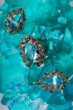Komplettes Set des Juweliers Stockbilder