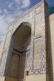 Komplex av mausoleumschah-jag-Zinda i Samarkand, Uzbekistan Arkivfoto