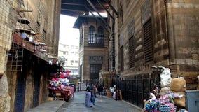 Komplex av Sultan al-Ghuri i Kairo lager videofilmer
