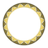 Komplex cirkelram för thailändsk stil Arkivbild