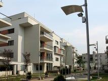 Komplex der Wohnungen Stockfotos