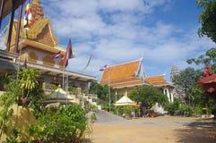 Komplex för buddistisk tempel royaltyfri fotografi
