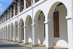 Komplex för högre domstol för Galle fort` s - arv för Sri Lanka UNESCOvärld Royaltyfria Bilder