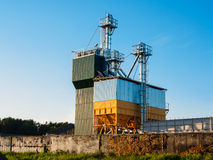 Komplex för korntork i Vitryssland Royaltyfria Foton