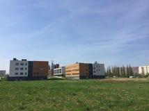 Komplex för Koszalin Wyzsza Szkola Inzynierska teknikhögstadium arkivfoton