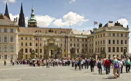 Komplex för Prague slott, Prague, Tjeckien Arkivfoto