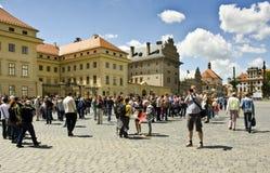 Komplex för Prague slott, Prague, Tjeckien Royaltyfria Foton