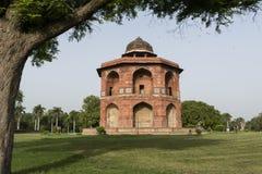 Komplex för Sher mandal inre puranaqila i Delhi Fotografering för Bildbyråer