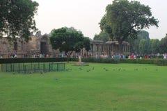 Komplex Qutb Minar in Mehrauli, Neu-Delhi, Indien Lizenzfreies Stockfoto