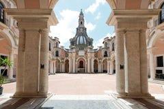 Komplex von der gute Hirte in Rom Lizenzfreies Stockfoto