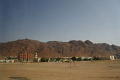 Komplexa Jabal Uhud Fotografering för Bildbyråer