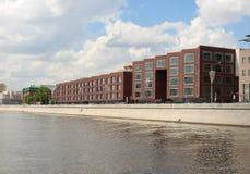 Komplexe Ahorn WOHNDOM Prechistenskaya-Damm 5, 7 Lizenzfreie Stockfotos