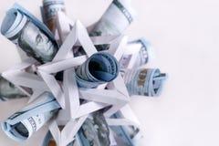 Komplexer Entwurf der Geldextraktion Stockfotografie