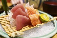 Komplexer Sashimi Lizenzfreie Stockfotografie