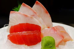 Komplexer Sashimi Stockfotos