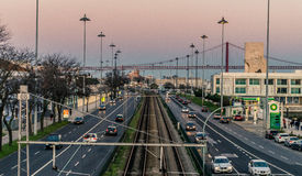 Komplexitäts-Stadt lizenzfreie stockbilder