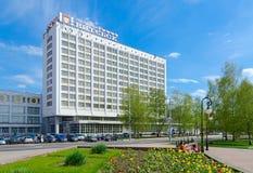 Komplext Vitebsk för turist och för hotell hotell, Vitryssland royaltyfri foto