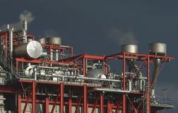 komplicerad industriell växt Royaltyfria Foton