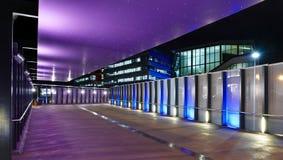 komplicerad lighting för arkitektonisk brisbane centro Royaltyfri Foto