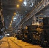 komplicerade industriella metallurgical shoppar royaltyfri fotografi