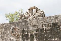 komplicerade mayan sportar Arkivbild