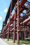 komplicerat industriellt min för kol Arkivfoton