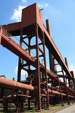 komplicerat industriellt min för kol Royaltyfri Bild