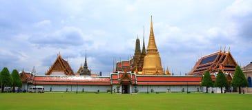 komplicerat tempel thailand arkivfoton
