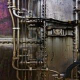 Komplizierte Auslegung vom Metall Stockfotos