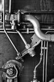 Komplizierte Auslegung vom Metall Lizenzfreies Stockfoto