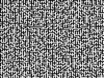 Kompliziertes Labyrinth Stockbild