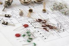 komponenty elektroniczne Zdjęcie Royalty Free