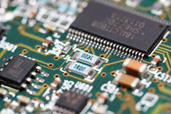 komponenty elektroniczne Obraz Stock